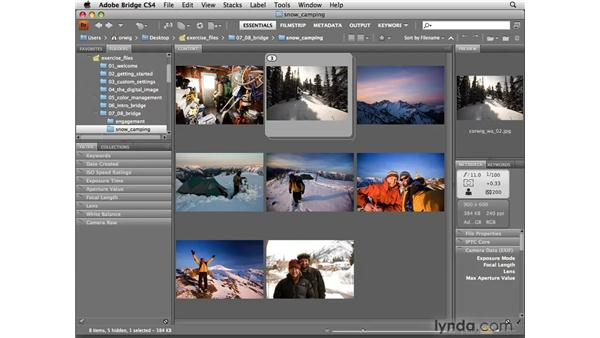 Stacking images: Photoshop CS4 for Photographers
