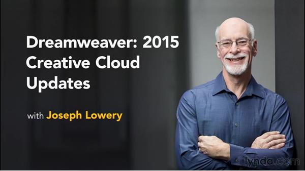 Next steps: Dreamweaver: 2015 Creative Cloud Updates