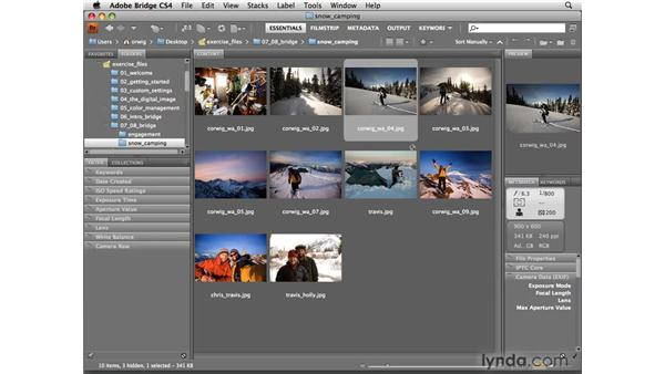 Renaming and batch-renaming: Photoshop CS4 for Photographers