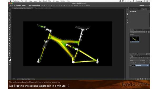 Photoshop and alpha channels: After Effects: 2015 Creative Cloud Updates