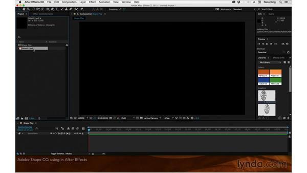 Adobe Shape CC: After Effects: 2015 Creative Cloud Updates