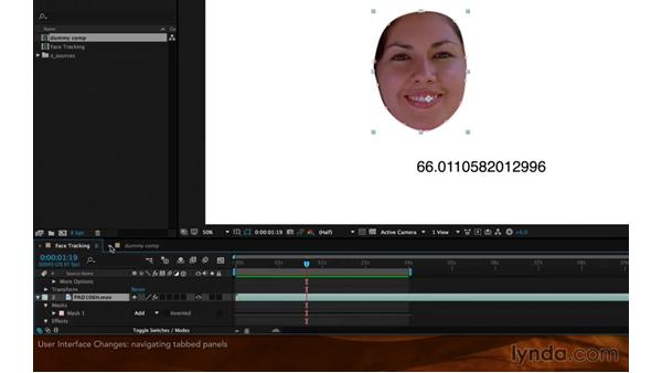 User interface changes: After Effects: 2015 Creative Cloud Updates