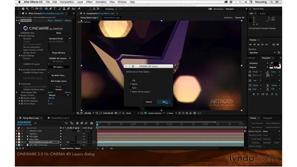 CINEWARE 2.0.16: After Effects: 2015 Creative Cloud Updates