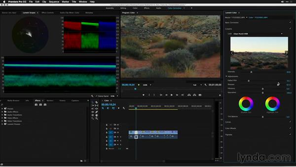 Modifying a clip's creative properties: Premiere Pro: 2015 Creative Cloud Updates