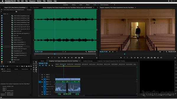 Improved control modifying clips with audio: Premiere Pro: 2015 Creative Cloud Updates