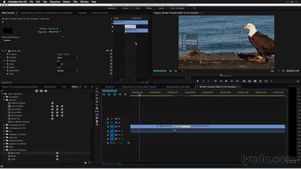 AB-style transition editor for all transitions: Premiere Pro: 2015 Creative Cloud Updates