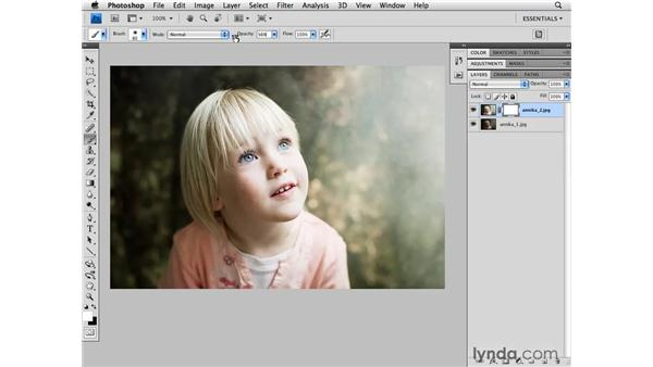 Opening multiple images as layers: Photoshop CS4 for Photographers