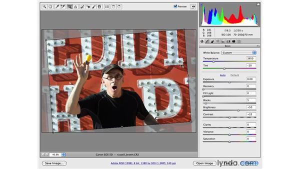 White Balance, Straighten, and Tone: Photoshop CS4 for Photographers