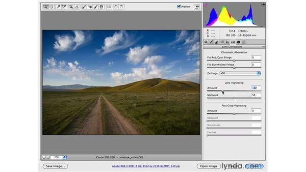 Working with the Graduated filter: Photoshop CS4 for Photographers