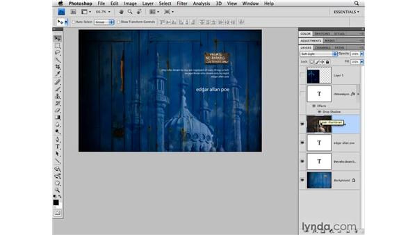 Working with layers: Photoshop CS4 for Photographers