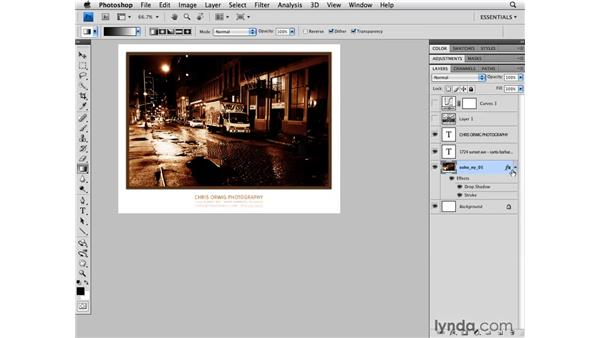 Layer style effects: Photoshop CS4 for Photographers