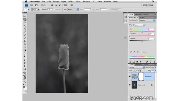 Masking shortcuts: Photoshop CS4 for Photographers