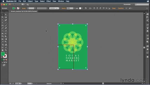 Manipulating artboards with the Artboard tool: Illustrator CC Essential Training (2015)