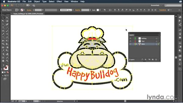 Creating and editing layers: Illustrator CC Essential Training (2015)