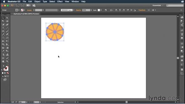 Moving and duplicating objects: Illustrator CC Essential Training (2015)