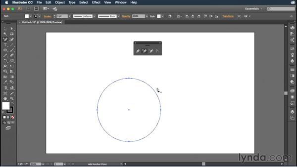 Pen tool basics: Illustrator CC Essential Training (2015)