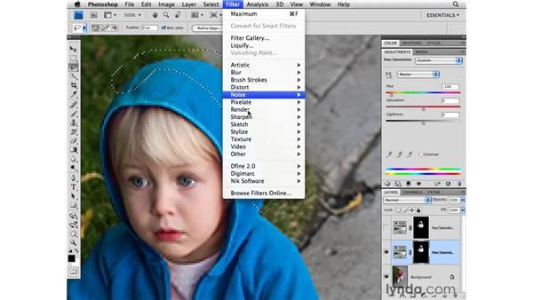 Advanced selection enhancements: Photoshop CS4 for Photographers