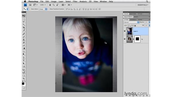 Using the Lasso tool: Photoshop CS4 for Photographers