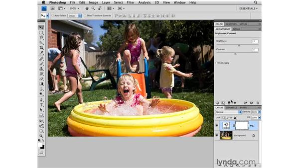 Brightness and contrast: Photoshop CS4 for Photographers
