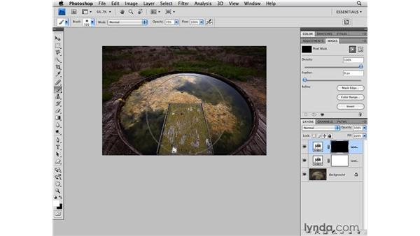 Levels and masking: Photoshop CS4 for Photographers