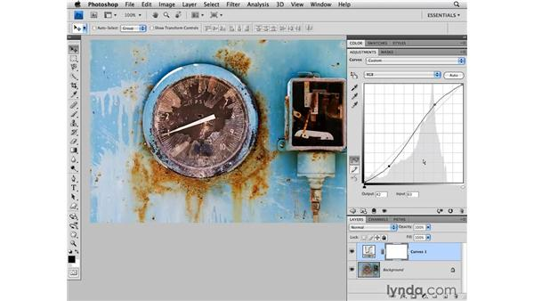 Using curves for contrast and tone: Photoshop CS4 for Photographers