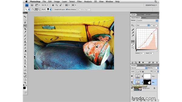 Enhancing color with curves: Photoshop CS4 for Photographers