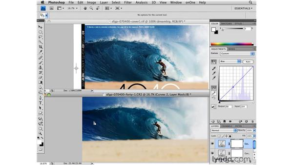 Creative tip 3: Using curves for publication: Photoshop CS4 for Photographers