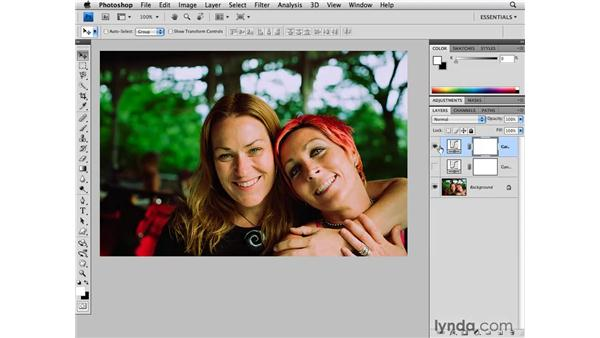 Using, modifying, and saving curves presets: Photoshop CS4 for Photographers