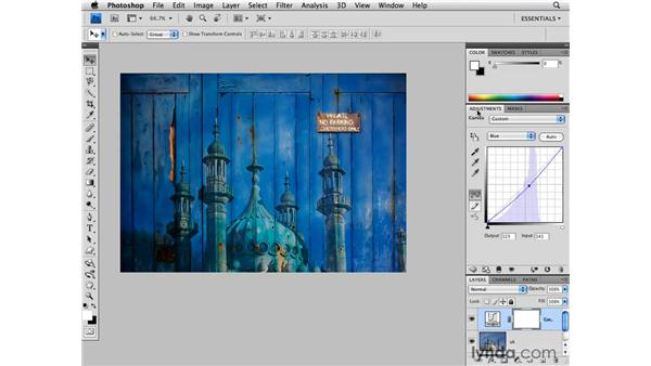 Blending multiple images: Photoshop CS4 for Photographers