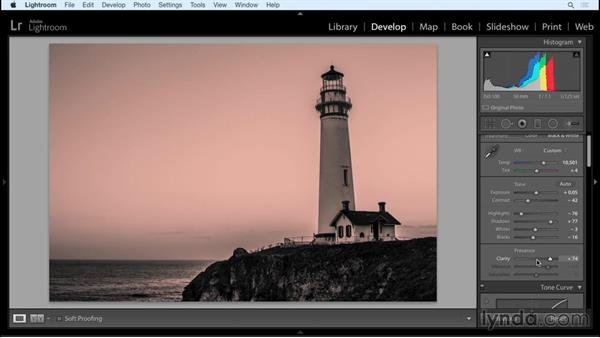 Where Photoshop comes in: Working with Raw-Format Photosin Lightroom and Photoshop