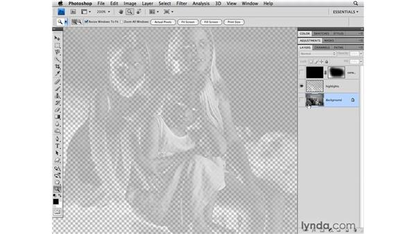 Adding contrast to the highlights: Photoshop CS4 for Photographers