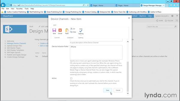 Examining Design Manager: Publishing Sites with SharePoint 2013