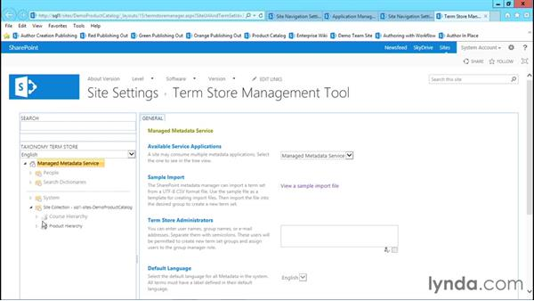 Understand the power of managed navigation: Publishing Sites with SharePoint 2013