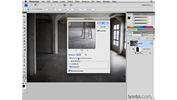 Applying Smart Filters: Photoshop CS4 for Photographers