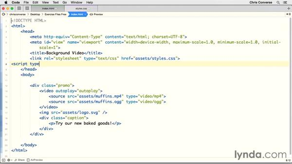 Detecting features of mobile with Modernizr: Design the Web: HTML Background Video