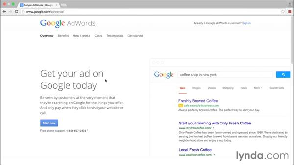 Before getting started: Google AdWords Essential Training