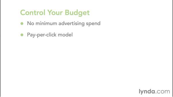 Benefits to using AdWords: Google AdWords Essential Training