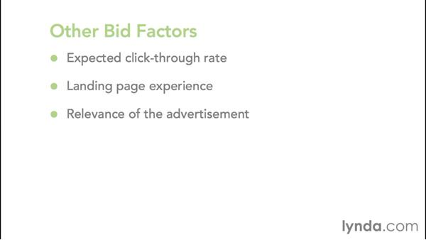 Understanding Quality Score and the auction system: Google AdWords Essential Training