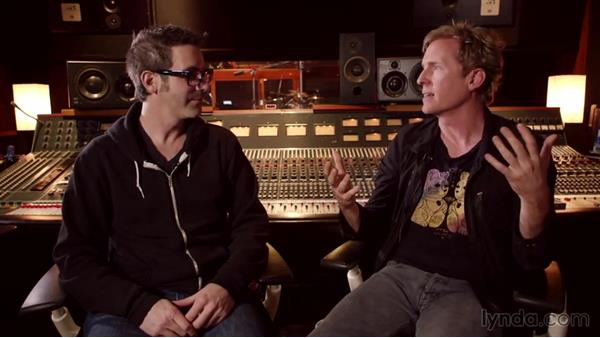Josh Freese, session and touring drummer: Drum Recording Session with Josh Freese