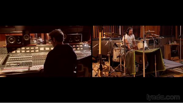 Getting a great kick drum sound: Drum Recording Session with Josh Freese