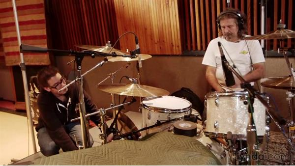 Getting creative with the stunt mics: Drum Recording Session with Josh Freese