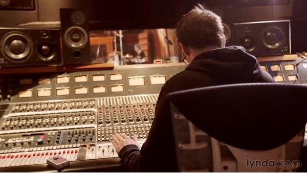 Recording one more pass: The keeper take: Drum Recording Session with Josh Freese