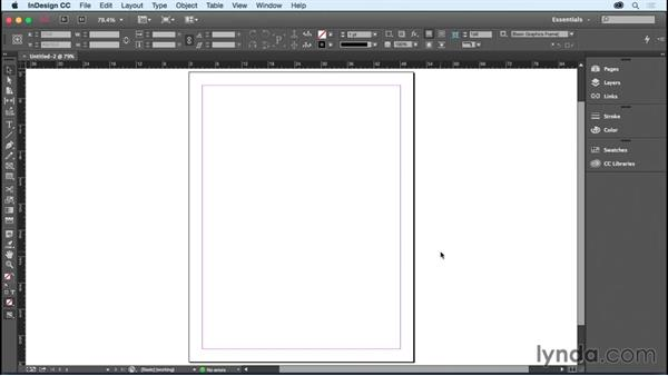 Getting started: InDesign CC Essential Training (2015)