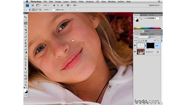 Brightening eyes: Photoshop CS4 for Photographers