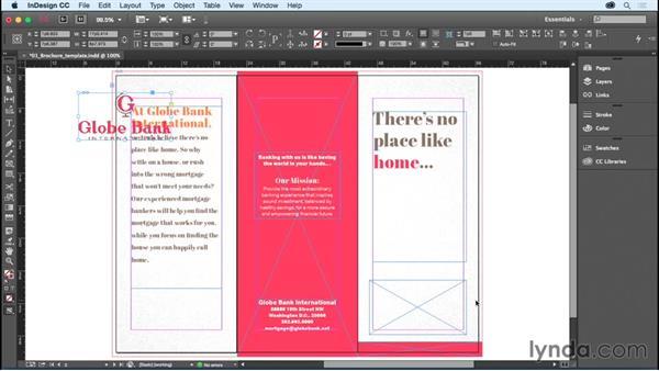 Adding or replacing graphics: InDesign CC Essential Training (2015)