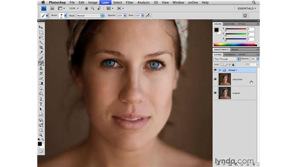 Changing eye color: Photoshop CS4 for Photographers