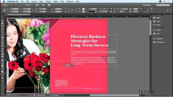 Saving and reverting documents: InDesign CC Essential Training (2015)