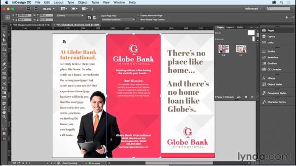 Changing page size: InDesign CC Essential Training (2015)