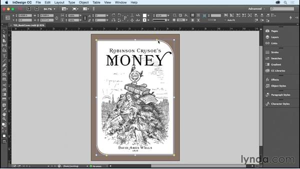 Adding rounded corners and other corner options: InDesign CC Essential Training (2015)