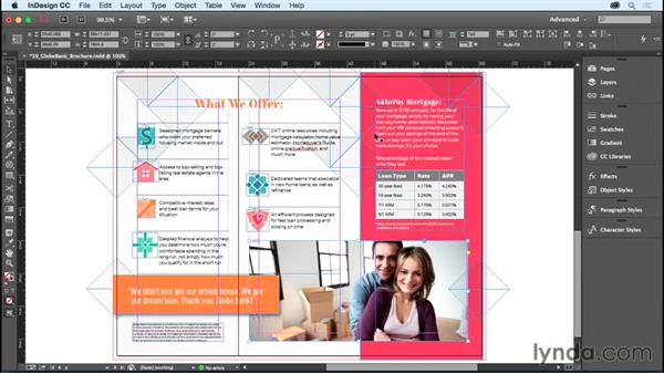 Stacking objects: InDesign CC Essential Training (2015)